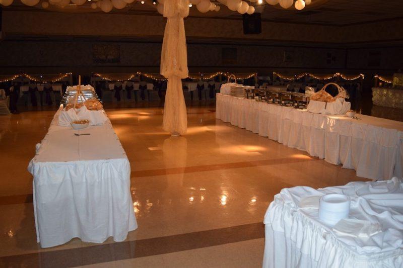 Two Buffet Setup